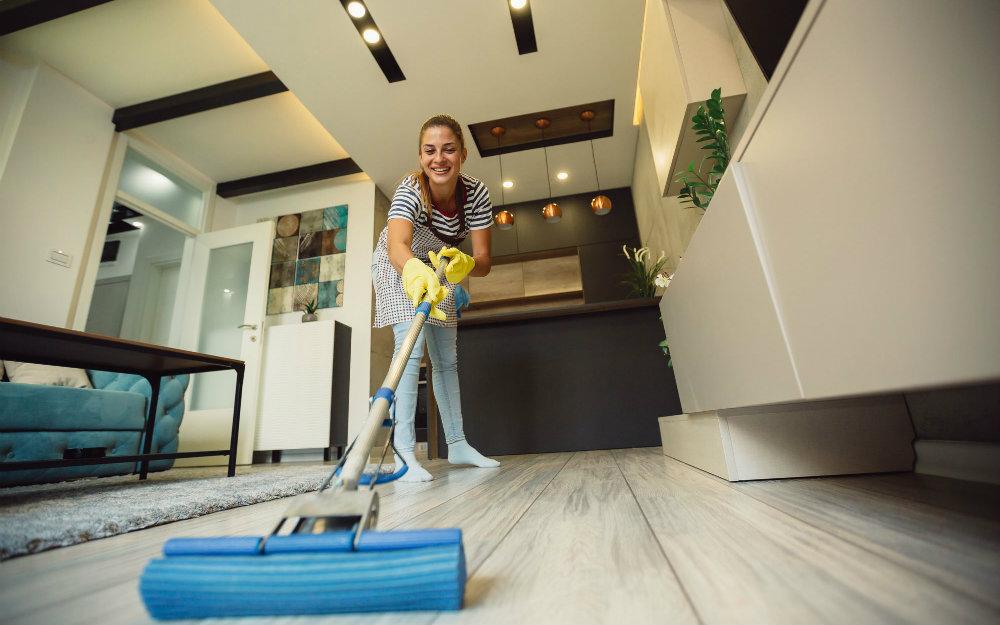 Serviço de limpeza para aluguel de temporada